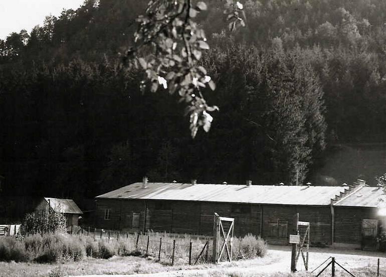 Eingang Lager Sportplatz; Archiv Gedenkst?tte Vulkan